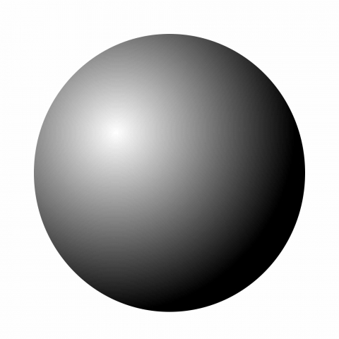 sphere grey